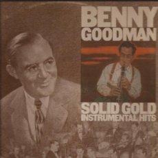 Discos de vinilo: LP-BENNY GOODMAN-SOLID GOLD INSTR...-CBS 89130-DOBLE-. Lote 29487957