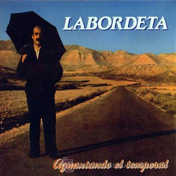 LOTE 2 ALBUM JOSE ANTONIO LABORDETA - AGUANTANDO EL TEMPORAL 1985 / CANTES DE TIERRA ADENTRO - 1976 (Música - Discos - LP Vinilo - Cantautores Españoles)