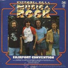 Discos de vinilo: FAIRPORT CONVENTION - Nº 56 ORBIS Hª MUSICA ROCK -1978-VERTIGO/FONOGRAM-'TIPPLER'S TALES' - NUEVO . Lote 29490893