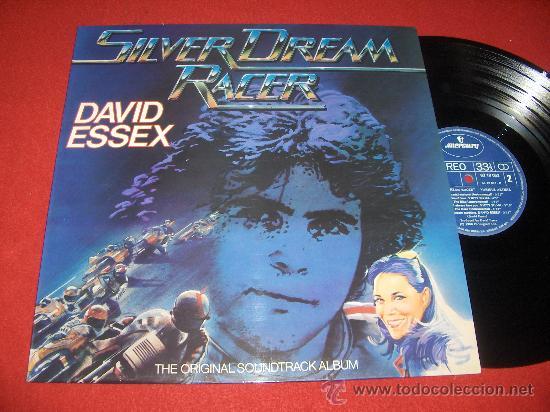 BSO SILVER DREAM RACER LP 1980 MERCURY EDICION ESPAÑOLA (Música - Discos - LP Vinilo - Bandas Sonoras y Música de Actores )