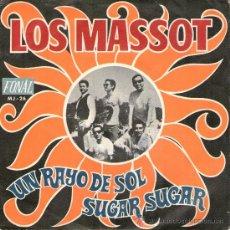 """Discos de vinilo: LOS MASSOT - SINGLE VINILO 7"""" - EDITADO EN ESPAÑA - UN RAYO DE SOL + SUGAR SUGAR - FONAL 1970. Lote 29499134"""