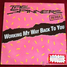 Discos de vinilo: THE SPINNERS - WORKING MY WAY BACK TO YOU ( REMIX) MAXI SINGLE . ATLANTIC RECORDS GERMANY 1988. Lote 29500515