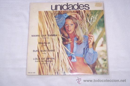 UNIDADES 7´EP MAMA QUE BAMBA + 3 TEMAS *RARE SPANISH PROGRE.70¨S* EXCELENTE (Música - Discos de Vinilo - EPs - Grupos Españoles de los 70 y 80)
