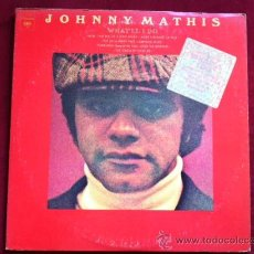 Discos de vinilo: JOHNNY MATHIS - WHAT´LL I DO . LP . COLUMBIA RECORDS USA 1974. Lote 29501608