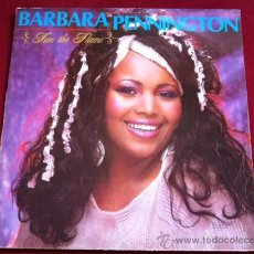 Discos de vinilo: BARBARA PENNINGTON - FAN THE FLAME . MAXI SINGLE .RECORD SHACK RECORDS UK 1985. Lote 29502699