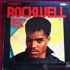 Discos de vinilo: ROCKWELL - OBSCENE PHONE CALLER . MAXI SINGLE . MOTOWN RECORDS ESPAÑA 1984. Lote 29503564
