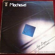 Discos de vinilo: MACHIAVEL - NEW LINES . LP . HARVEST ESPAÑA 1981. Lote 29504329