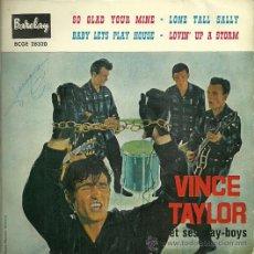 Discos de vinilo: VICEN TAYLOR EP SELLO BARCLAY AÑO 1961 EDITADO EN ESPAÑA . Lote 29504738