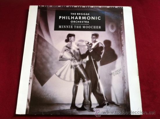 THE REGGAE PHILHARMONIC ORCHESTRA - MINNIE THE MOOCHER . MAXI SINGLE. MANGO RECORDS ESPAÑA 1988 (Música - Discos de Vinilo - Maxi Singles - Reggae - Ska)