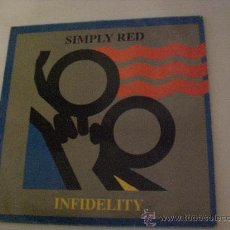 Discos de vinilo: SIMPLY RED, INFIDELITY VERS. REGGAE, MAXI WEA SPAIN 1987.. Lote 29507559