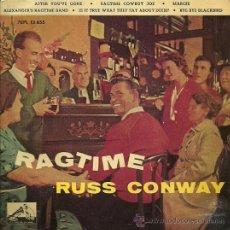 Discos de vinilo: RUSS CONWAY EP SELLO LA VOZ DE SU AMO AÑO 1961 EDITADO EN ESPAÑA . Lote 29507752