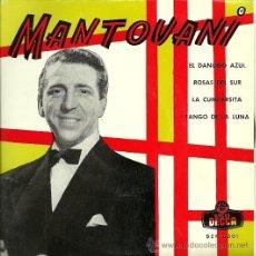 Discos de vinilo: MANTOVANI EP SELLO DECCA AÑO 1962 EDITADO EN ESPAÑA . Lote 29507781