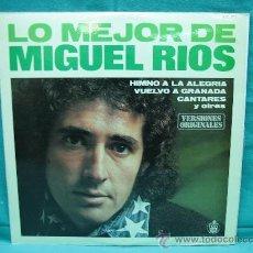 Discos de vinilo: LP VINILO MIGUEL RIOS. Lote 29515428