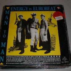 Discos de vinilo: ENERGY IS EUROBEAT, MAXI MAN TO MAN. Lote 29520305