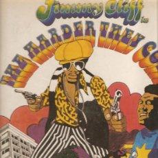 Discos de vinilo: LP BANDA SONORA : JIMMY CLIFF - THEY HARDER THEY COME. Lote 29520350