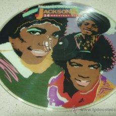 Discos de vinilo: MICHAEL JACKSON AND THE JACKSON 5 ' 14 GREATEST HITS ' 1972/1974/1975 USA-1984 LP33. Lote 29521020
