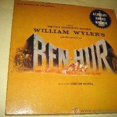 Discos de vinilo: BEN-HUR - ORIGINAL USA - 1959 - CAJA CON DISCO Y LIBRO - VER FOTOS - PIEZA UNICA!!. Lote 29522601