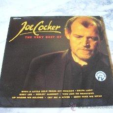 Discos de vinilo: JOE COCKER. THE VERY BEST OF . 1991. Lote 29527047