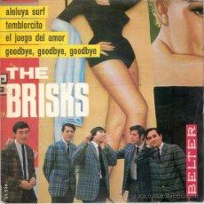 Discos de vinilo: THE BRISKS - ALELUYA SURF + 3 (EP DE 4 CANCIONES) BELTER 1965 - VG++/VG++. Lote 29530667