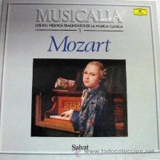 Discos de vinilo: DISCO LP DE VINILO- COLECCION SALVAT Nº 1 -MOZART LOS MIL MEJORES FRAGMENTOS DE LA MUSICA CLASICA. Lote 29531817
