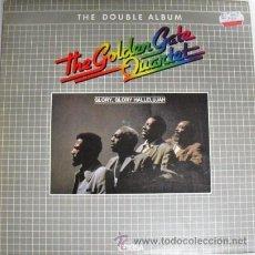 Discos de vinilo: DOBLE ALBUM LP DE VINILO THE GOLDEN GATE QUARTET EDITADO POR EDIGSA EN 1982. Lote 29534001