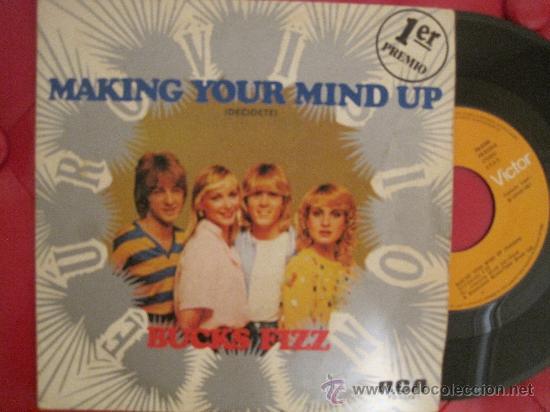 BUCKS FIZZ - MAKING YOUR MIND UP - EUROVISION 1981 UK (Música - Discos - Singles Vinilo - Festival de Eurovisión)