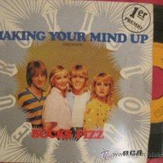 Dischi in vinile: BUCKS FIZZ - MAKING YOUR MIND UP - EUROVISION 1981 UK. Lote 176008354