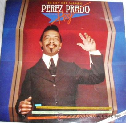 DOBLE ALBUM DOS DISCOS LP DE VINILO EL REY DEL MAMBO PEREZ PRADO HOY.EDIT. EPIC 1981 (Música - Discos - LP Vinilo - Orquestas)