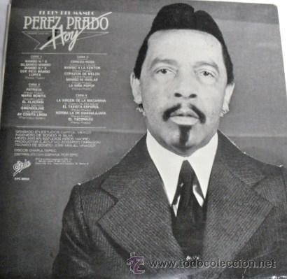 Discos de vinilo: DOBLE ALBUM DOS DISCOS LP DE VINILO EL REY DEL MAMBO PEREZ PRADO HOY.EDIT. EPIC 1981 - Foto 2 - 29536665