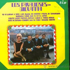 Discos de vinilo: LOS PAYADORES CON GIOVANNA - LP DE VINILO. Lote 29537828