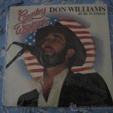 Discos de vinilo: LP DON WILLIAMS COUNTRY WESTERN. Lote 29538920