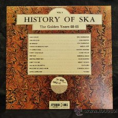 Discos de vinilo: HISTORY OF SKA VOL.1 - THE GOLDEN YEARS 60-65. Lote 29543018