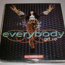 Discos de vinilo: MAGIC MARMALADE, MAXI EVERYBODY GET UP, SEMINUEVO. Lote 29544719