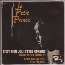 Discos de vinilo: EP-LE PETIT PRINCE-BARCLAY 70573-FRANCE-1963. Lote 29545211