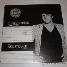 Discos de vinilo: NICK STRAKER, MAXI TODO RECTO, MOVIEPLAY SPAIN 1983, RARO, SEMINUEVO. Lote 29545440