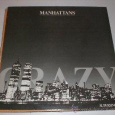 Discos de vinilo: MANHATTANS, MAXI CRAZY, NUEVO,. Lote 29545546