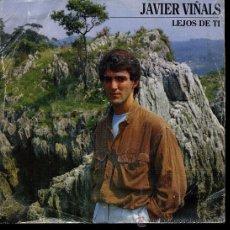Disques de vinyle: JAVIER VIÑALS - LEJOS DE TI / MADRE - SINGLE 1986. Lote 29548013