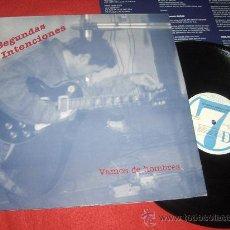 Discos de vinilo: SEGUNDAS INTENCIONES VAMOS DE HOMBRES LP 1991SEPTIMA DOMINANTE RECORDS. Lote 29553355