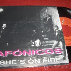 Discos de vinilo: AFONICOS SHE'S ON FIRE / WAITING FOR THE MAN 7