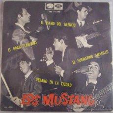 Discos de vinilo: SINGLE DE LOS MUSTANG. Lote 29561844
