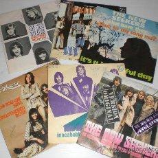Discos de vinilo: THE NEW SEEKERS, LOTE 6 SINGLES HITS PHILIPS AÑOS 70´ , OFERTA, VER + INDORMACION Y FOTOS. Lote 29562560
