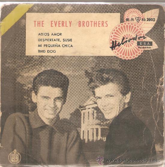 EP THE EVERLY BROTHERS : BYE, BYE, LOVES (Música - Discos de Vinilo - EPs - Pop - Rock Internacional de los 50 y 60)