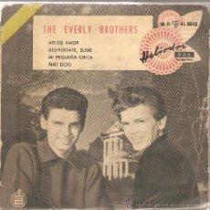 Discos de vinilo: EP THE EVERLY BROTHERS : BYE, BYE, LOVES . Lote 29566525