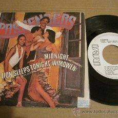 Discos de vinilo: PASSENGERS - MIDNIGHT / THE LION SLEEPS TONIGHT ( PROMO SPAIN ). Lote 29568065