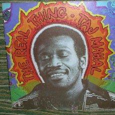 Discos de vinilo: TAJ MAHAL - THE REAL THING - ORIGINAL U.S.A. - COLUMBIA 1971 - LP DOBLE -PORTADA ABIERTA GATEFOLD. Lote 29579195