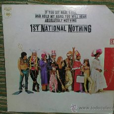 Discos de vinilo: 1ST NATIONAL NOTHING - IF YOU SIT REAL STILL... -ORIGINAL U.S.A. COLUMBIA 1968. Lote 29592078