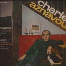 Discos de vinilo: LP-25 CTMS-CHARLES AZNAVOUR-BARCLAY 41042-EDIC. ESPAÑOLA-1964. Lote 29575223