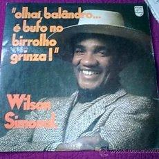 Discos de vinilo: WILSON SIMONAL LP SOUL BRASIL VG+/VGVG+. Lote 29582541