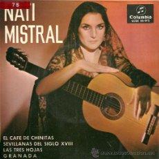 Discos de vinilo: NATI MISTRAL EP SELLO COLUMBIA AÑO 1965 EDICCIÓN ESPAÑOLA. . Lote 29583896