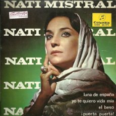 Discos de vinilo: NATI MISTRAL EP SELLO COLUMBIA AÑO 1965 EDICCIÓN ESPAÑOLA. . Lote 29583932